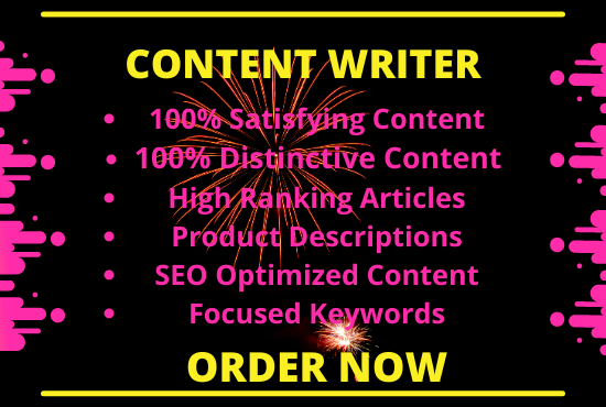 I will write 1500 words of SEO optimized and plagiarism free content for you.