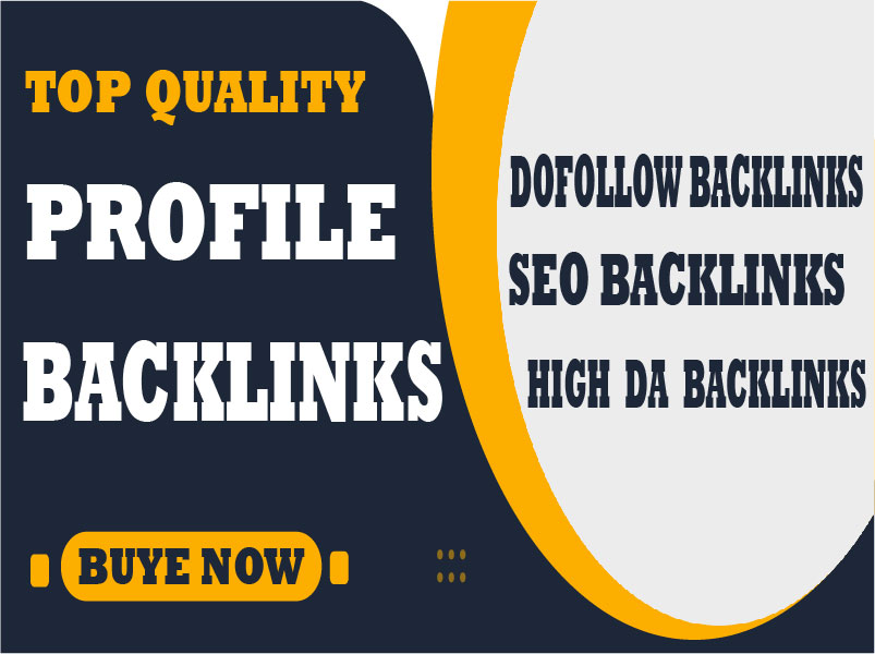 I will create 100 High Quality Dofollow SEO Profile Backlinks,  Link Building service