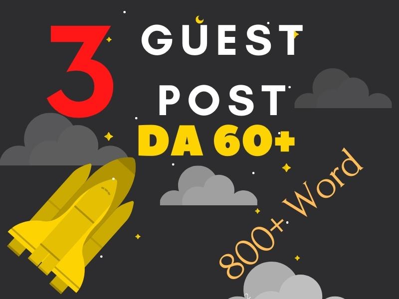 800+ Word Write & Publish High DA Guest Post on Medium,  Penzu,  Livejournal