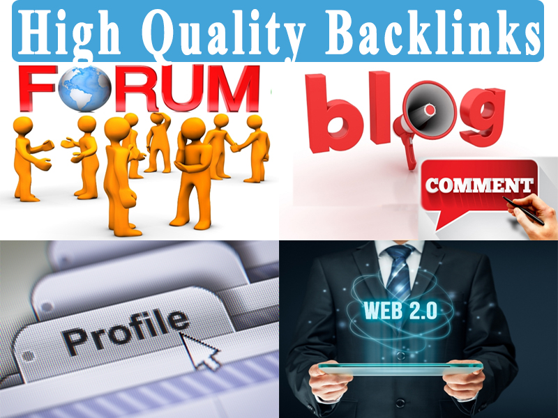 I will Provide 100 High Quality Permanent Dofollow Backlinks