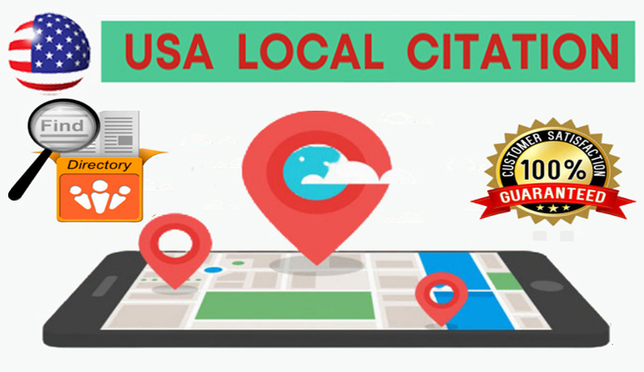 I will Do Top 50 Live USA Local Listing Citation for your Business