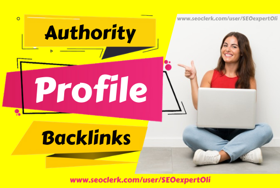 300 High quality manual profile backlinks at affordable price