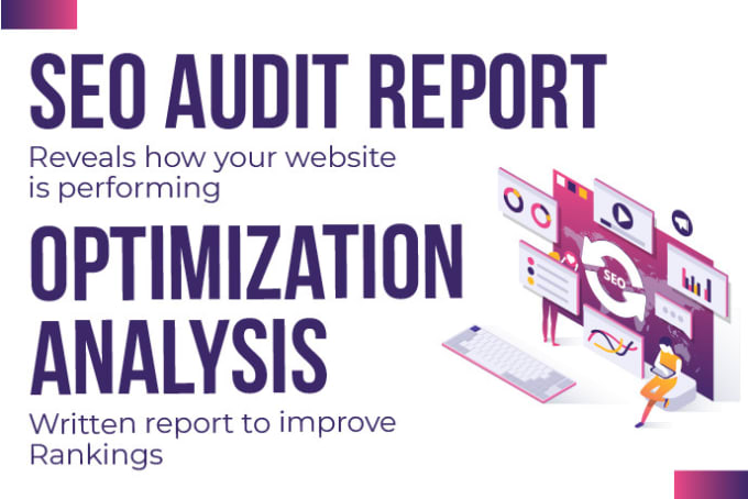 I will provide in depth professional SEO audit report for your website