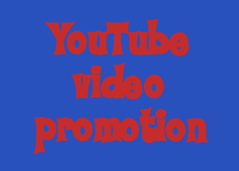 Only one real creative YouTube video promotion and social marketing quickly delivery