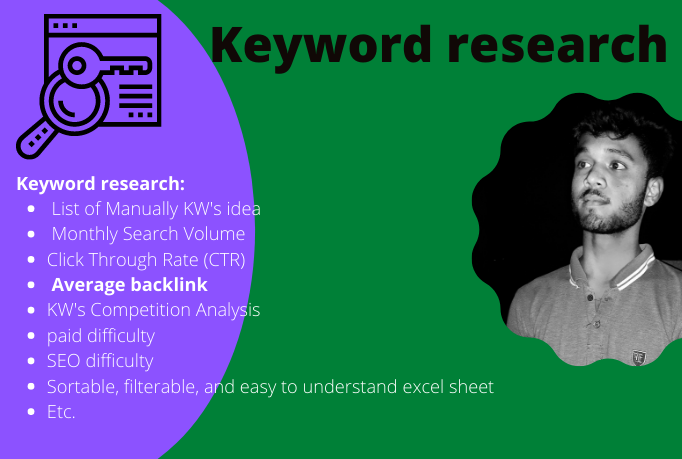 I will provide profitable keyword research for SEO