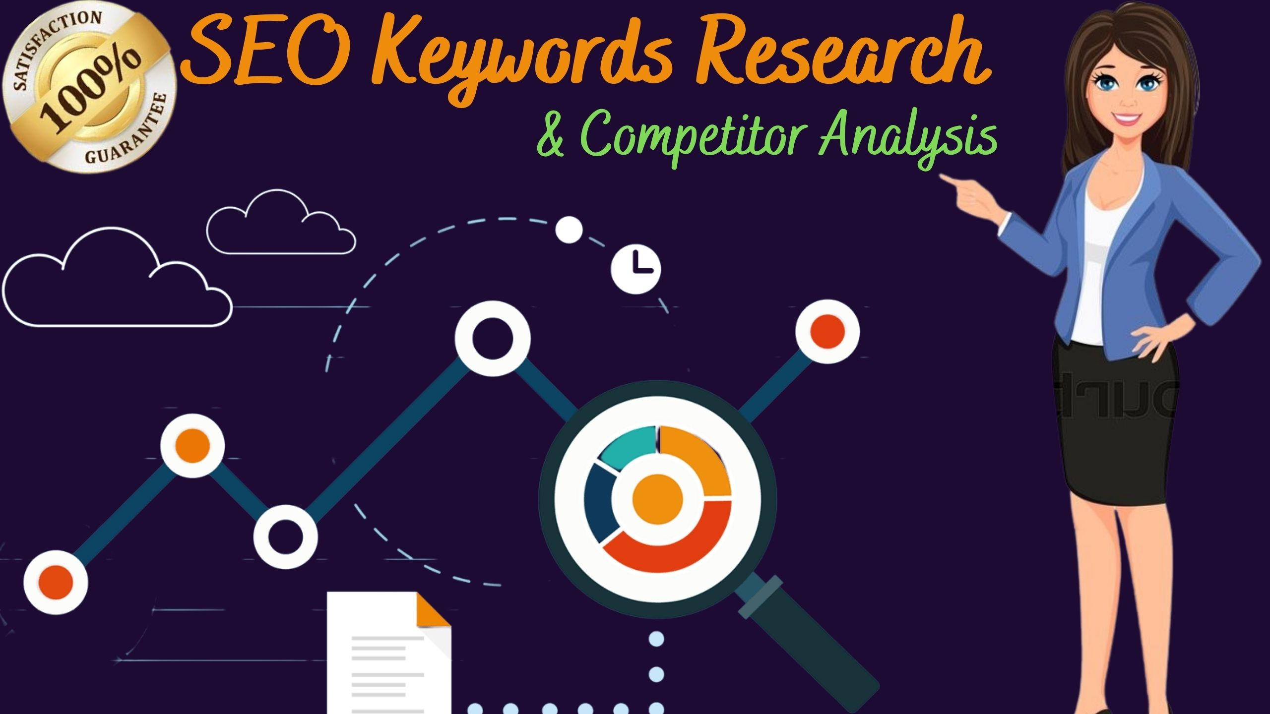 I will do SEO excellent keyword research and competitor analysis