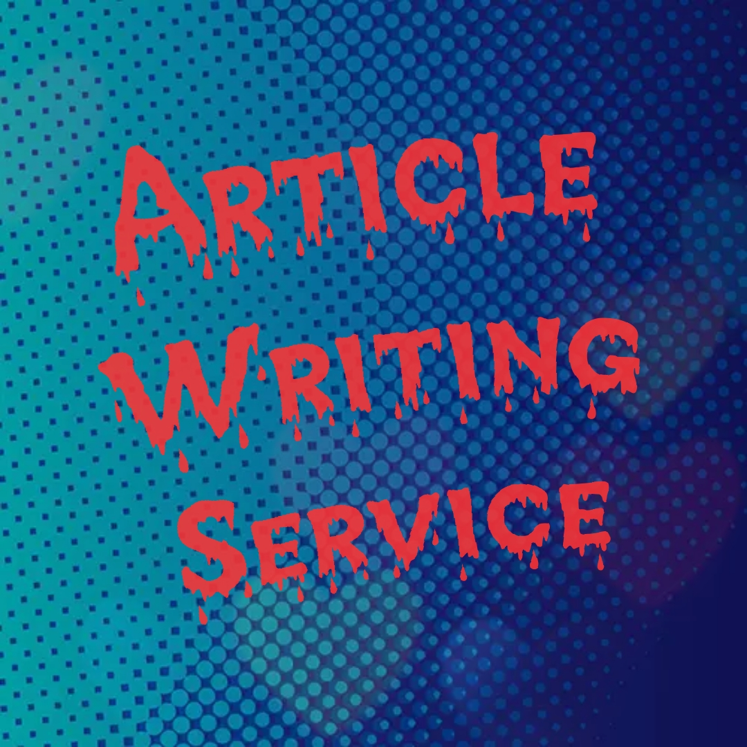 Article Writing as per client's request in short time.
