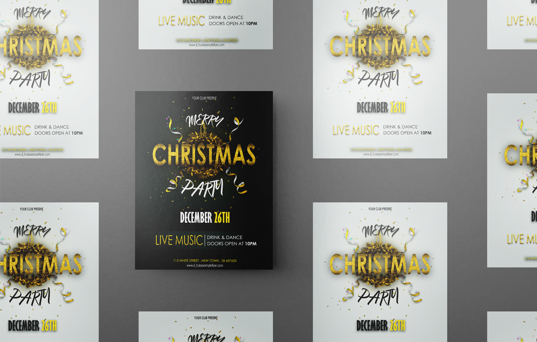 I will create a event flyer for party,  business or company