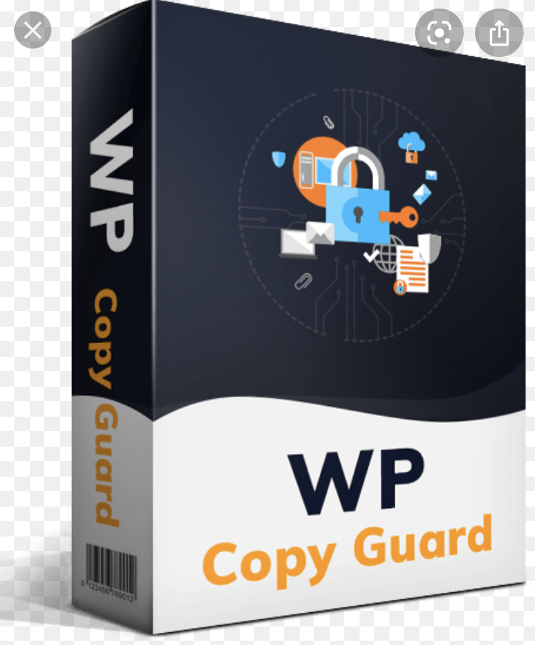 WP copy guard for blogs and anything