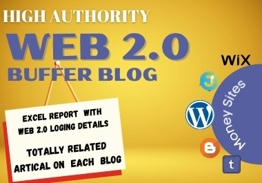 Create Superb 20 Web 2.0 Blog Backlinks With Image and Login Details