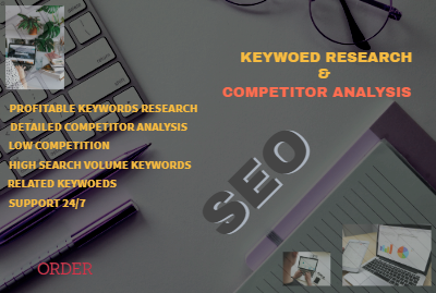 I will do profitable SEO keyword research and competitor analysis to Rank