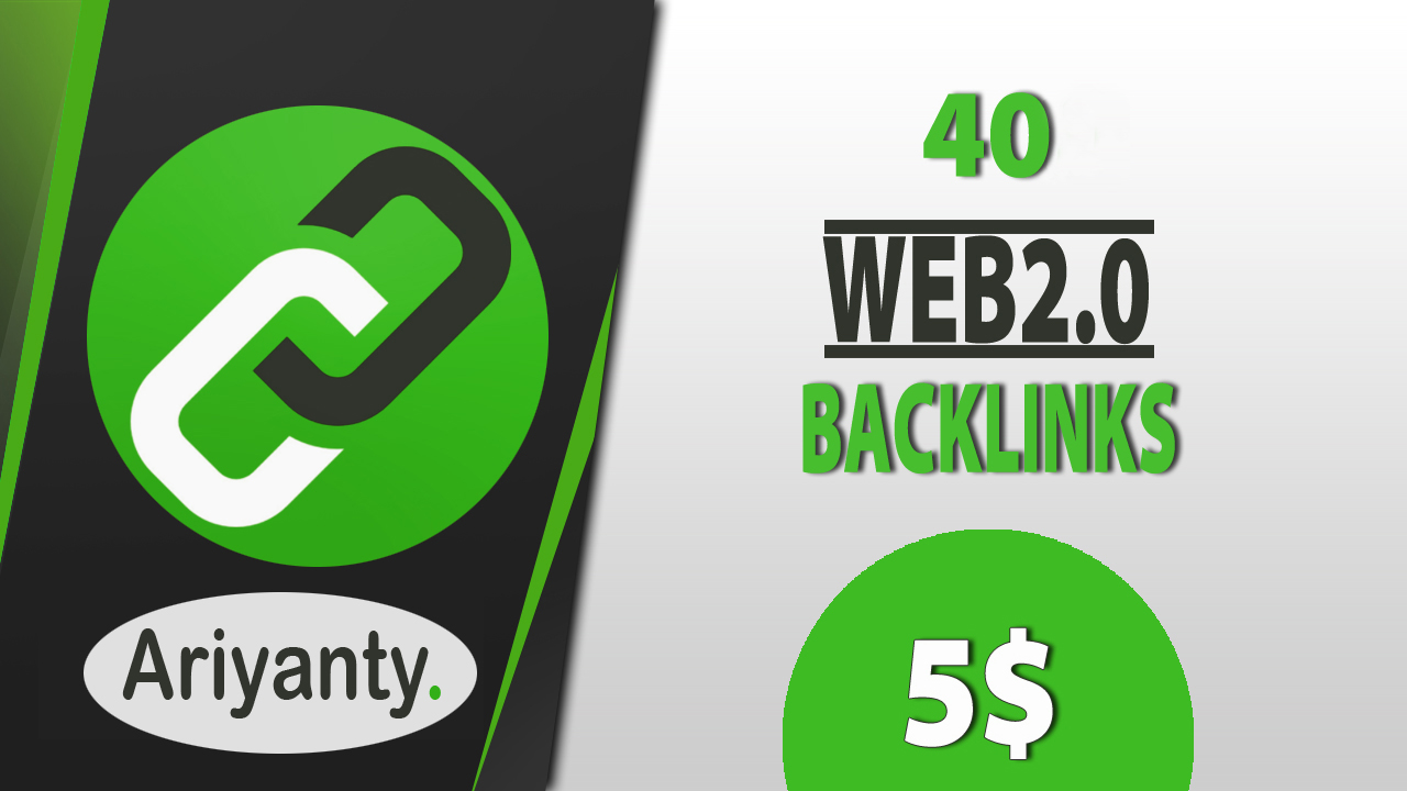 I will make Rank on Google with 40 high authority web 2.0 contextual backlinks and indexing