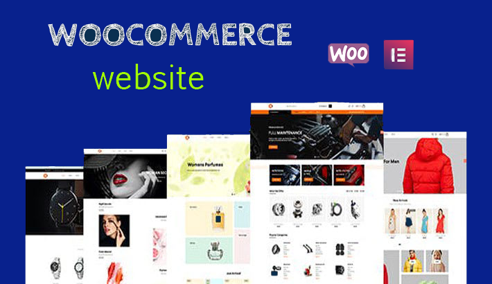 I will design and customize wordpress ecommerce online store using woocommerce