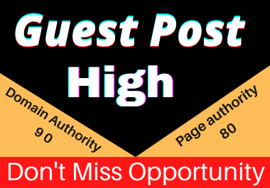 Write and Publish 10 Guest posts Unique article high authority website permanent backliks
