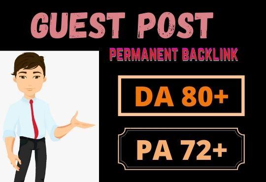 50 Da guest posting google news site permanent dofollow link