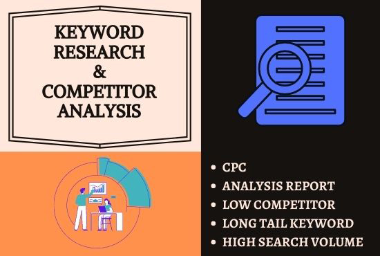 High Quality Advance SEO Keyword Research And Competitor Analysis For Your Website