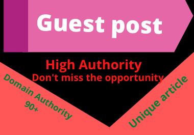 Write and Publish 5 Guest posts Unique article high authority website site perpetual backlinks