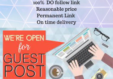 Write and Publish 10 Guest Post Rank Booster rank fast permanent backlink contextual Link building