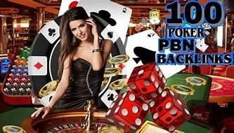 100 Casino, Poker, Gambling DA 55+ Permanent PBN