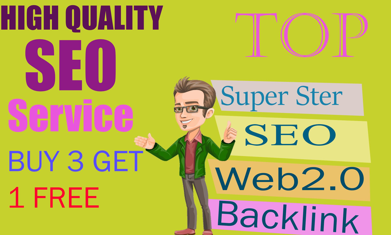 I will create super 100 web 2.0 backlinks