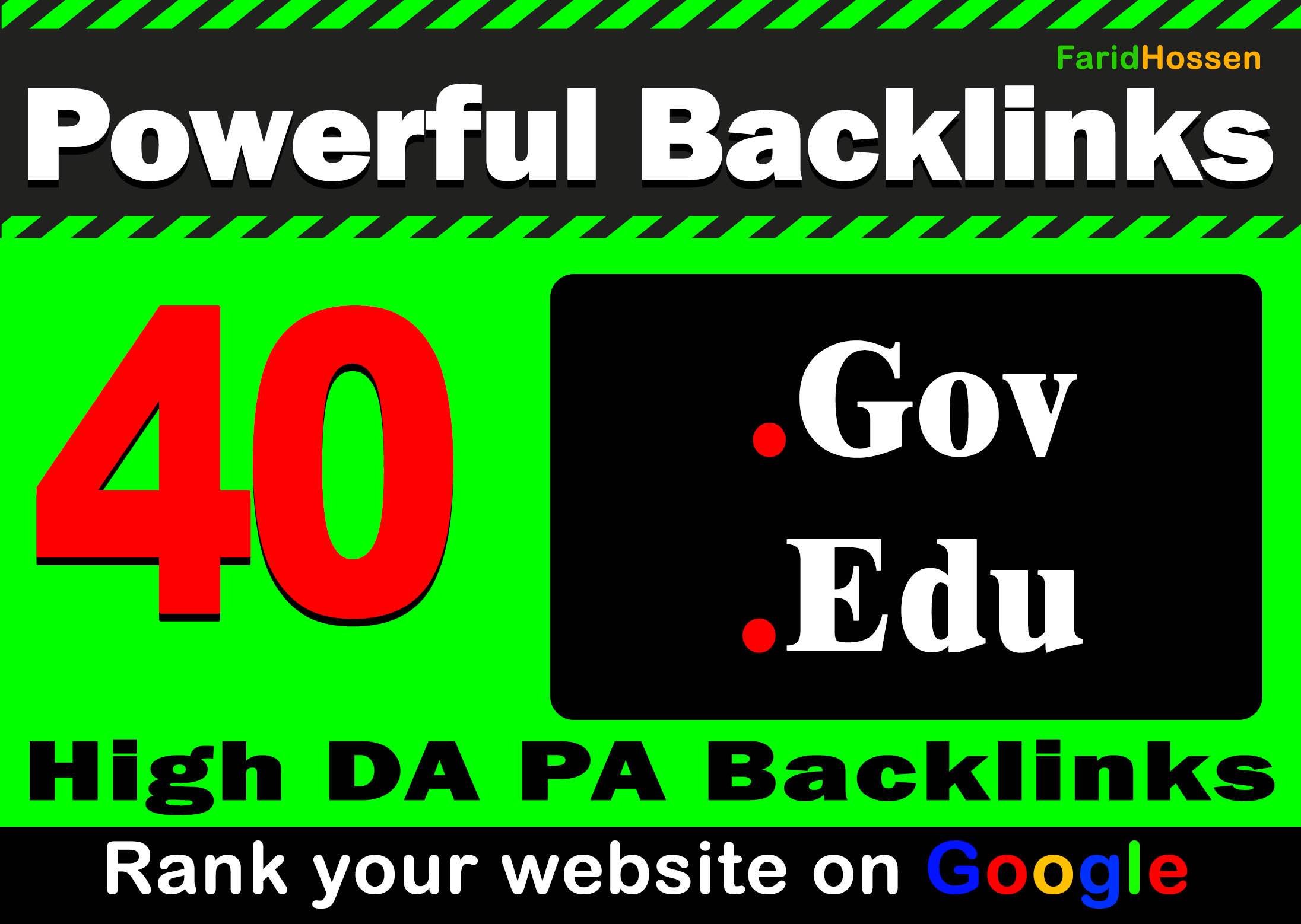 Manual 40 Edu,  Gov Backlinks Most Effective And Powerful High DA PA