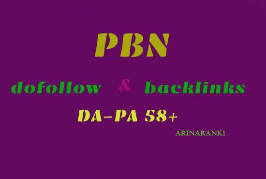 Creat manually do 150 high pa da tf cf homepage pbn backlinks