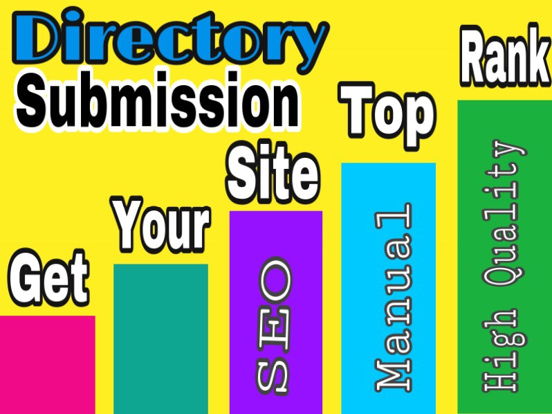 Build up 100 high quality Directory Submission Manually posting Backlinks