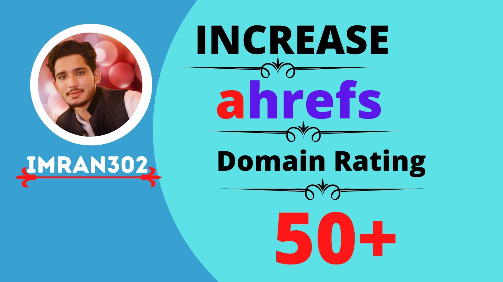 I will increase domain rating,  ahrefs DR 60 plus