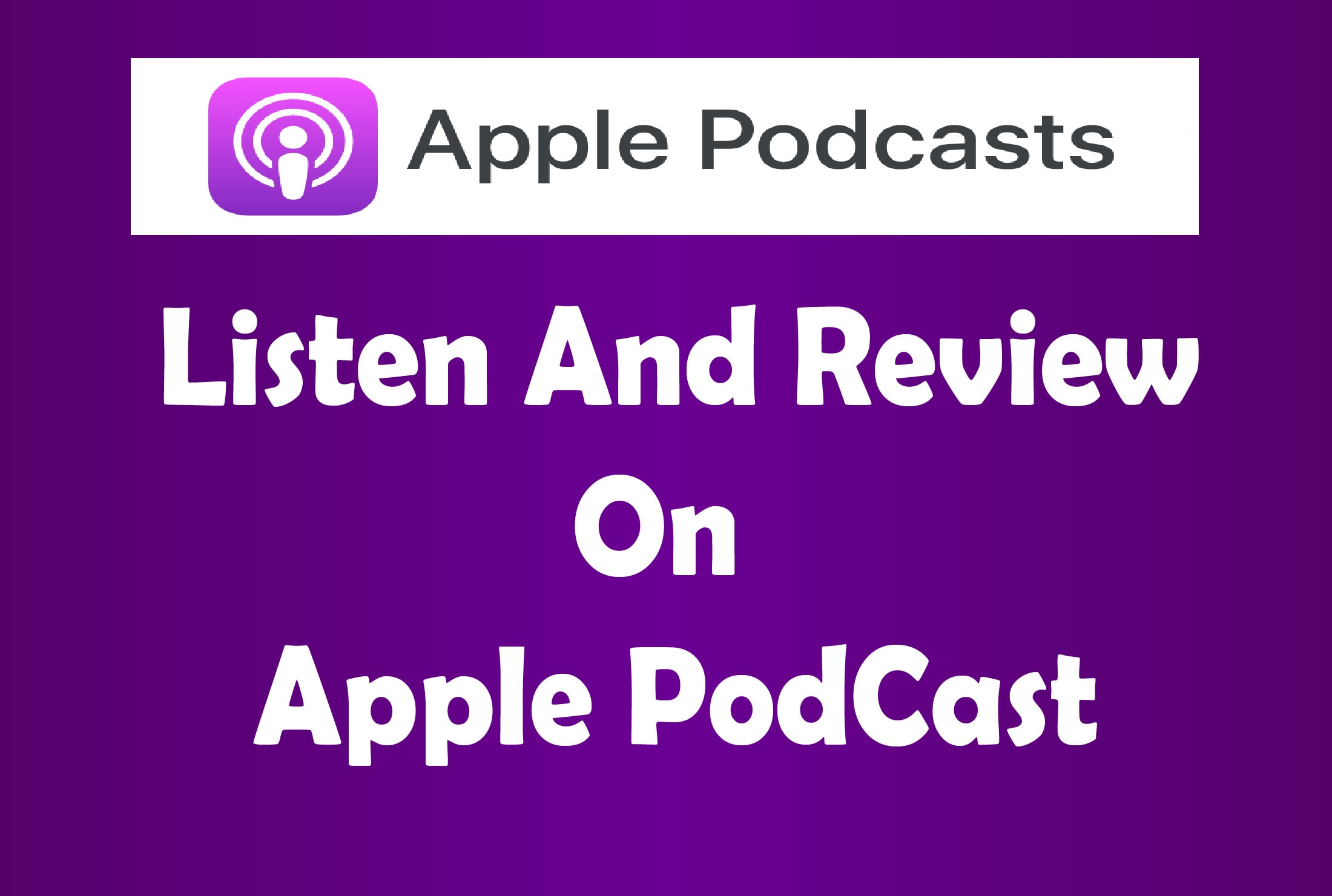 I will do promote and advertise your podcast and increase downloads