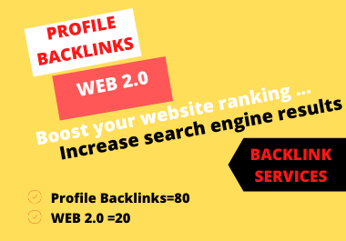 I Will Create 100 backlinks To Improve Your Google Ranking