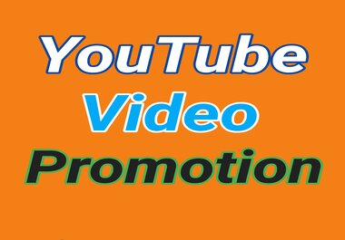 YouTube Organic Video Promotion Real and Safe