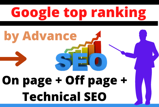 I will guaranteed Rank your site on google 1st page with HQ seo backlinks