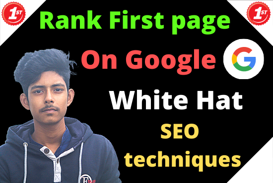 I will offer guaranteed google 1st page ranking service with white hat linkbuilding