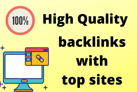 Give 40 manually High authority Ranking seo backlinks with top sites