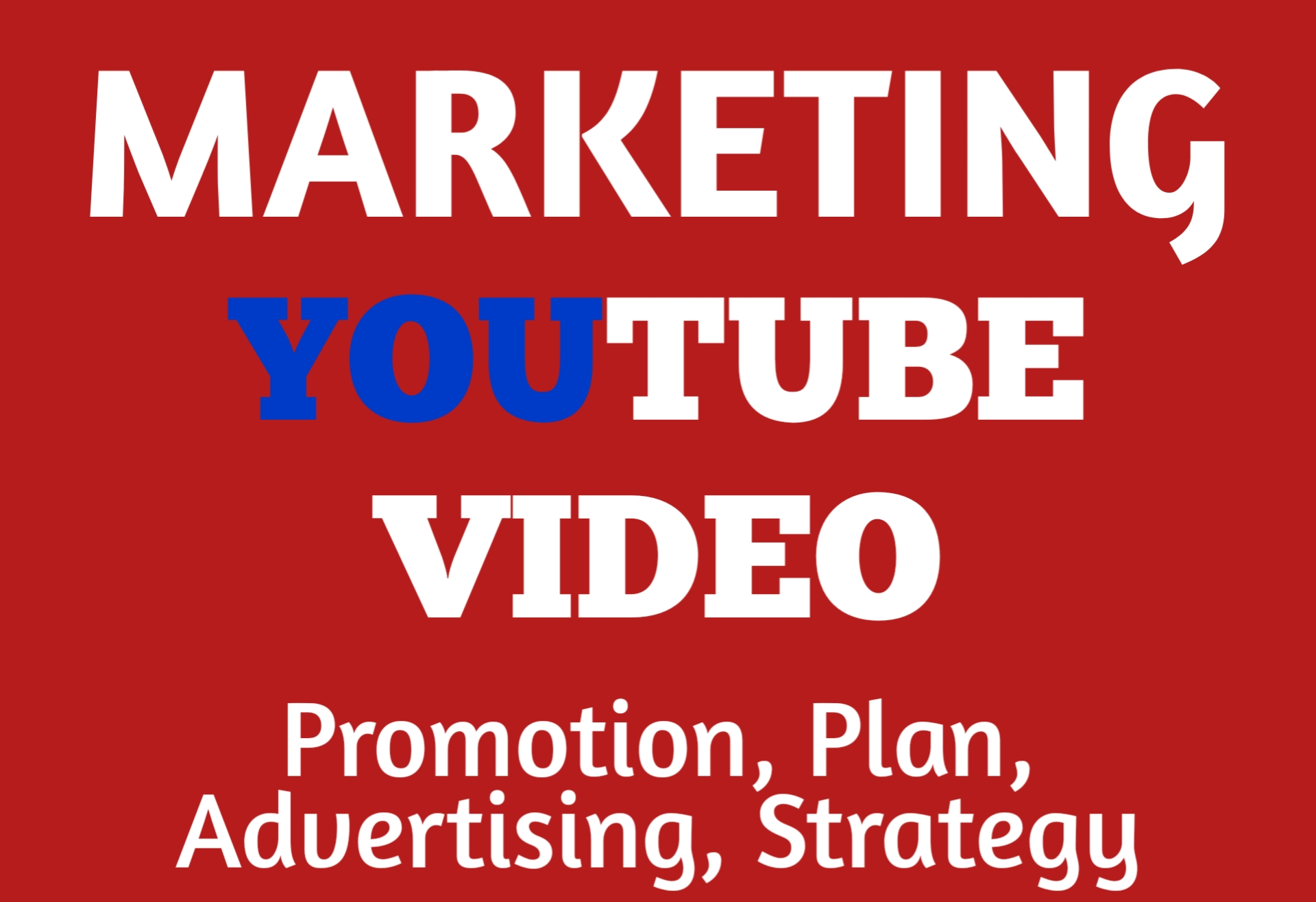 Do Youtube Video Promotion Via Planning