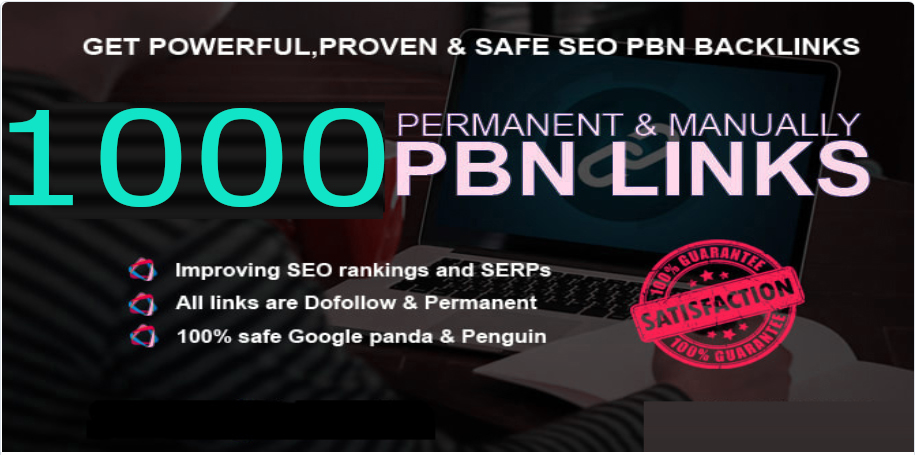 Get Extream 1000+ PBN Backlink in your site with HIGH DA/PA/TF/CF with novel site