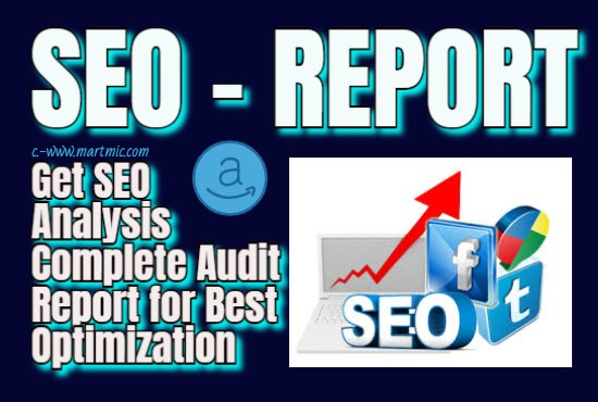 I will do SEO analysis audit report for website or blog