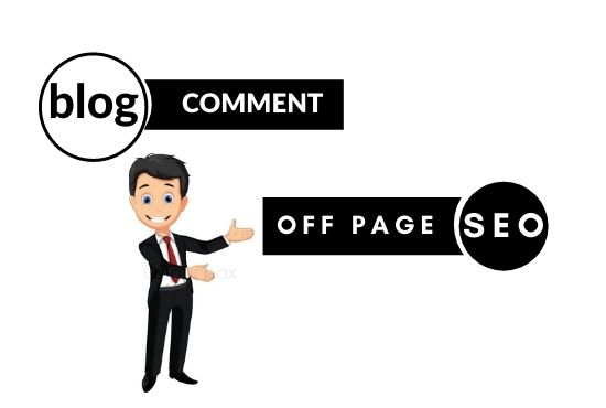 Get 100 high DA blog comment with backlinks & off page seo for your website