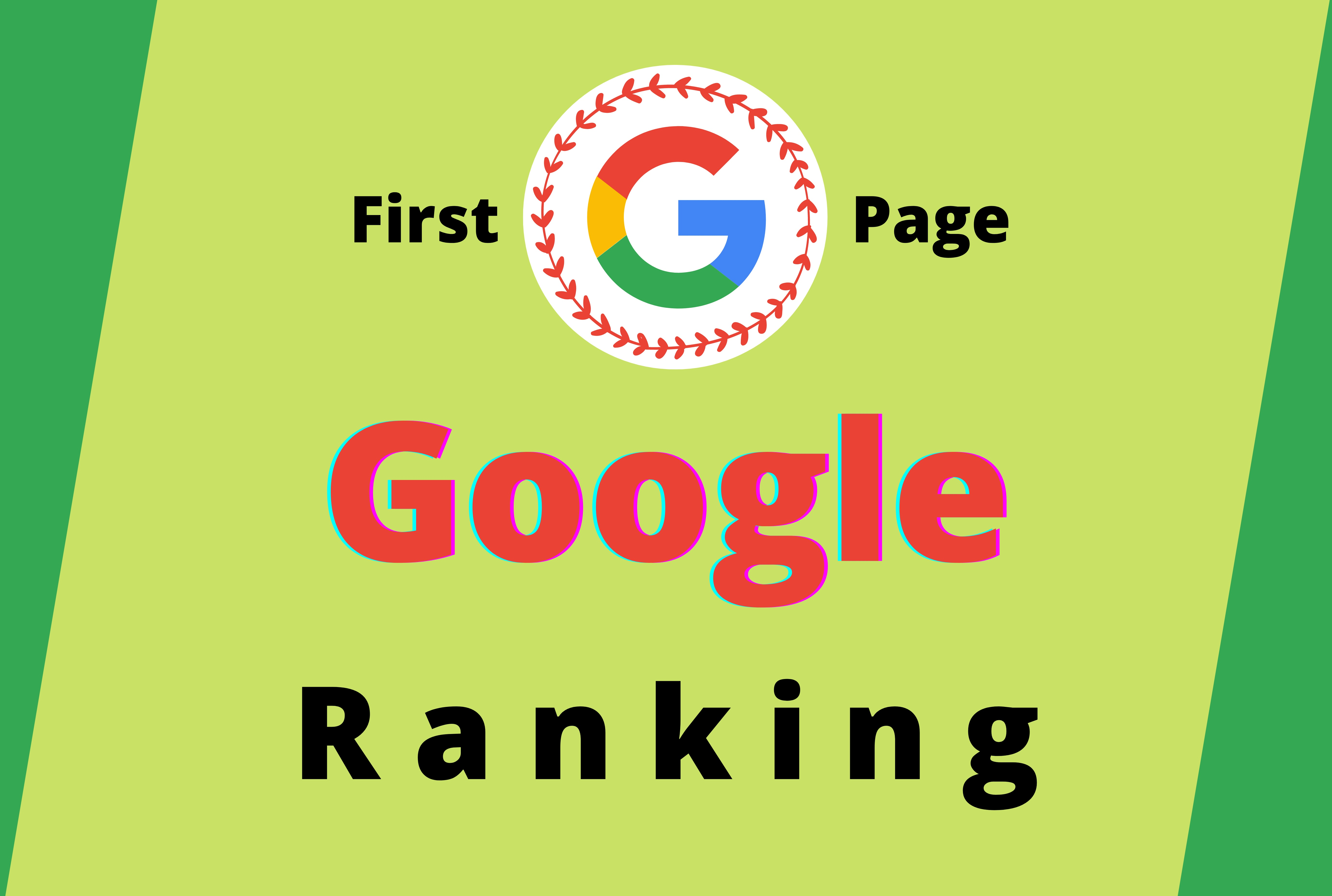 Guaranteed Rank Your Website on Google First Page with 2 Keyword
