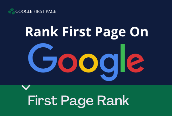 I Will do Rank your Website on Google First Page with the best link building service