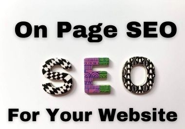 I will do on page SEO with latest techniques of 2021