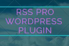 RSS Pro WordPress Plugin Software for windows