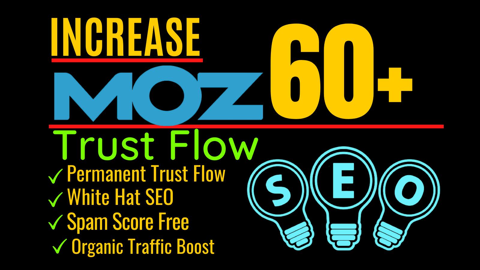 Increase website Domain Authority Moz DA 60 plus