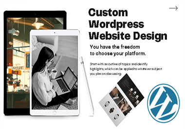 will design and develop a responsive word press website with SEO