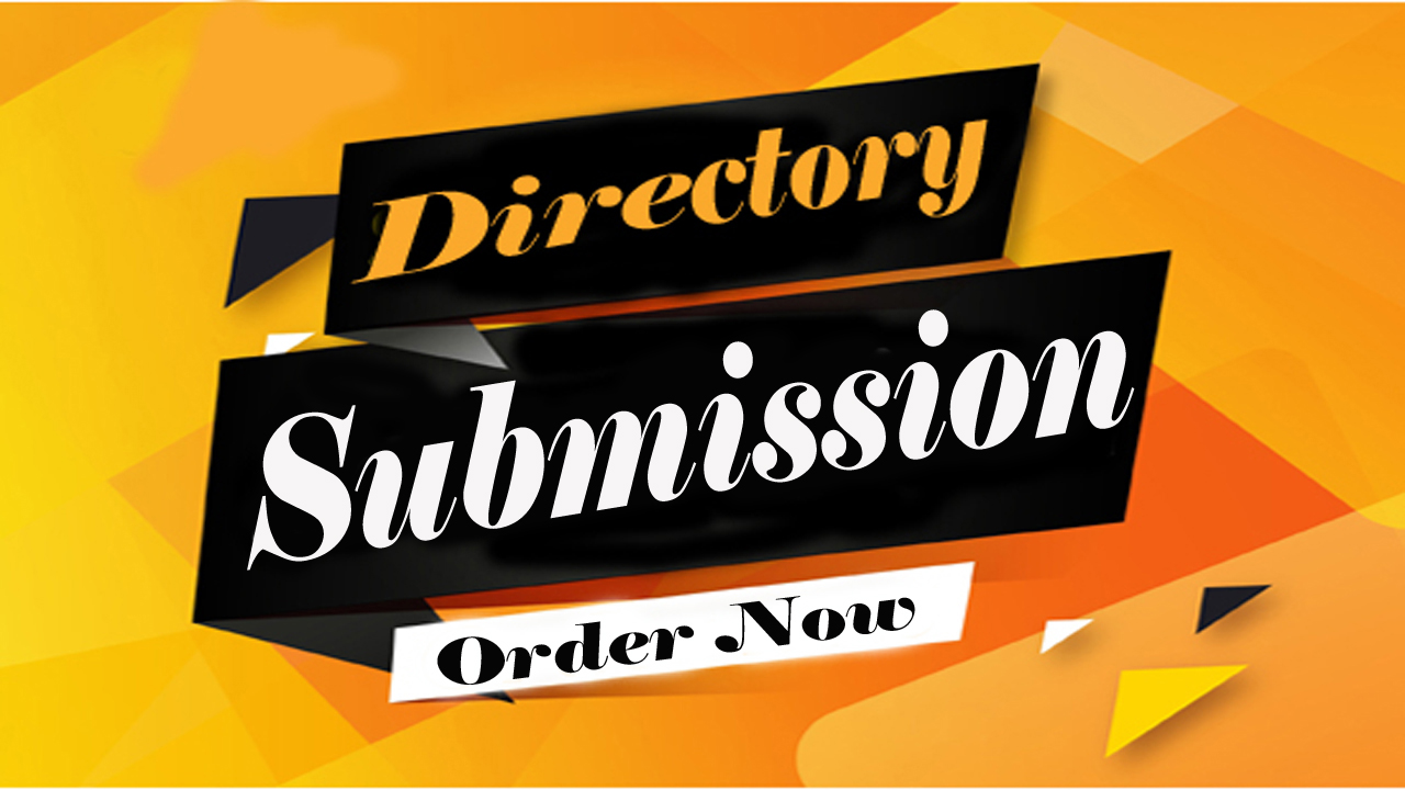 Provide 30 Manual Directory submission backlinks