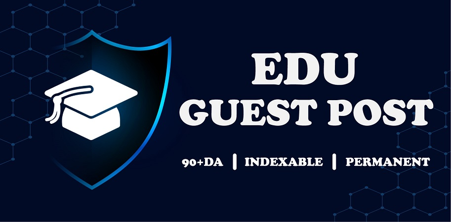 Guest post on educational website to get high authority backlinks