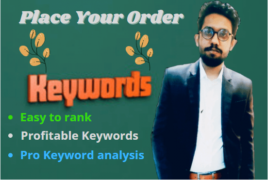 I will do profitable keyword research and competitor analysis for better SEO
