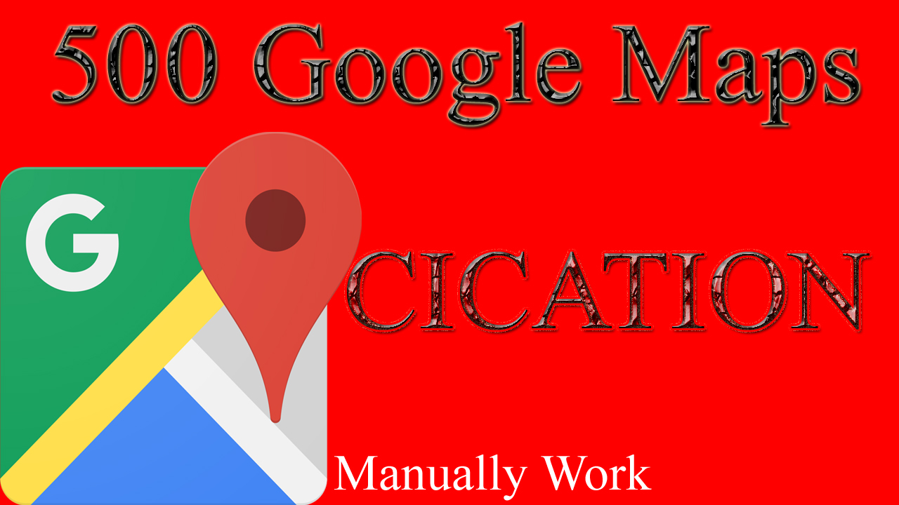 Create 3D maps in Google Earth 250 Google Map Point Marker citation for local business Rank