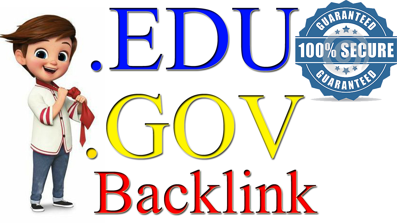 Manually 150+. EDU. GOV Backlink From Authority Site With Google Ranking