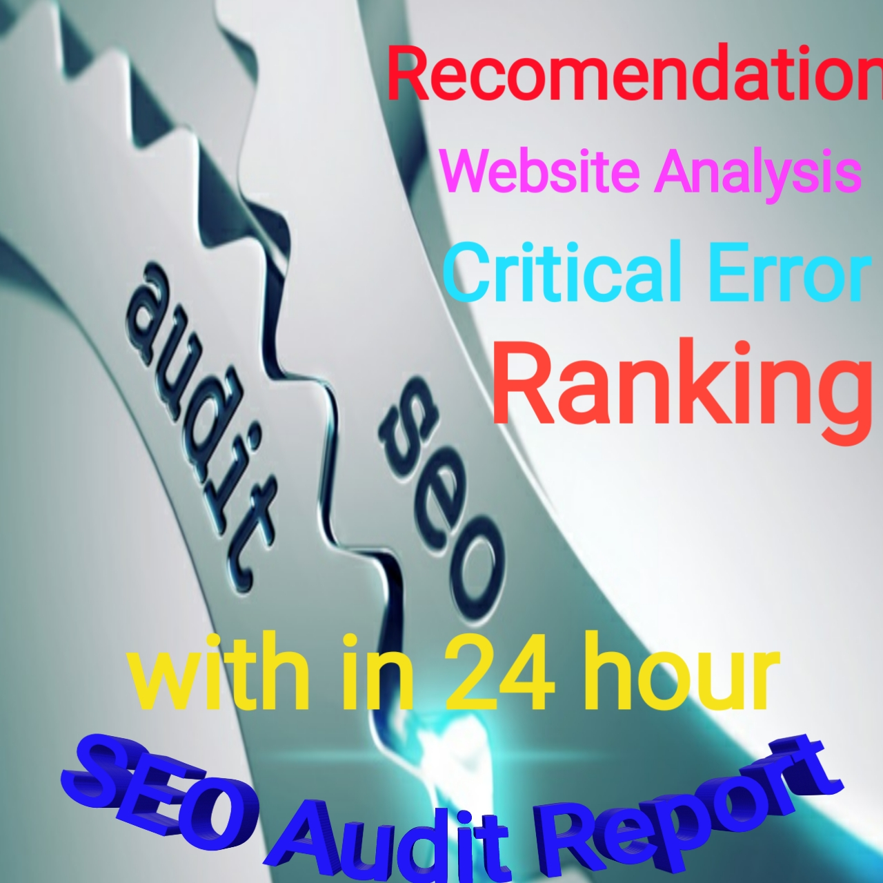 Provide SEO report plus website AUDIT With in 24 hour